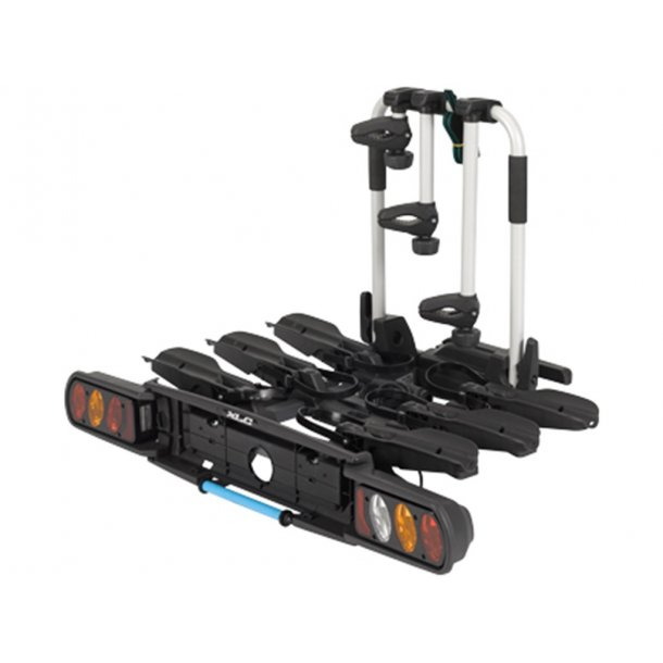 XLC CC-C03 Beluga Bike Rack Foldable, for 3 bikes (also for E-bikes)