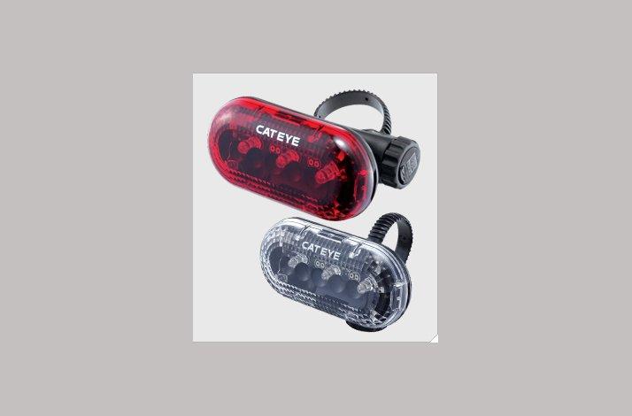 Baglygte Cateye TL-LD130 3 dioder - lev febr