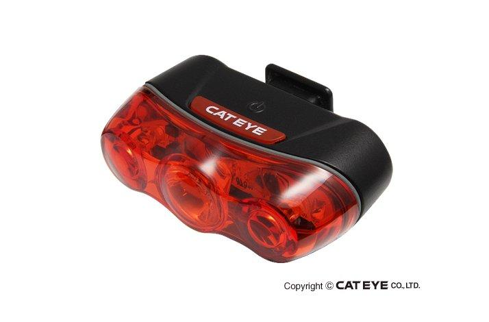 Baglygte Cateye Rapid 3 - 3 dioder