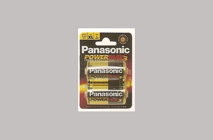 Panasonic BATTERI LR20 1,5V