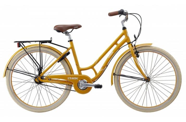 Mbk Girlstyle Junior pige cykel 20-24-26 tommer 7G MelloOrange