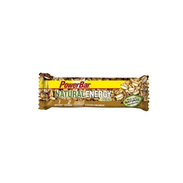 Bar PowerBar Natural Energy kasse med 24 stk 3 forskelige