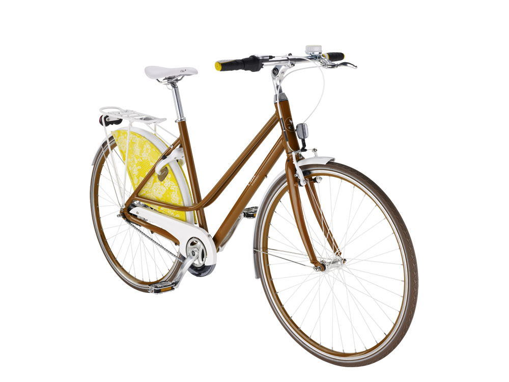 Kildemoes Bike Couture Chic Nexus7CB Rødbrown, old lace