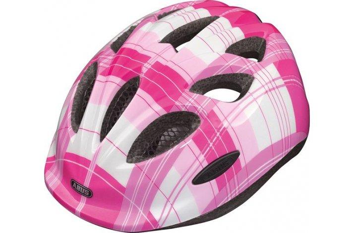 Hjelm Smiley, pink square