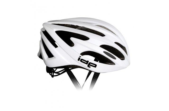 rh+ IDE cykelhjelm mat hvid