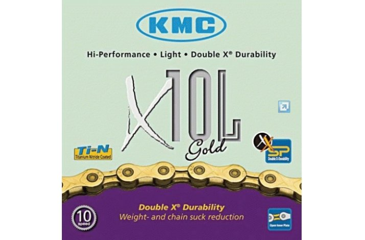 KMCX 10 L Guld CYKELKÆDE