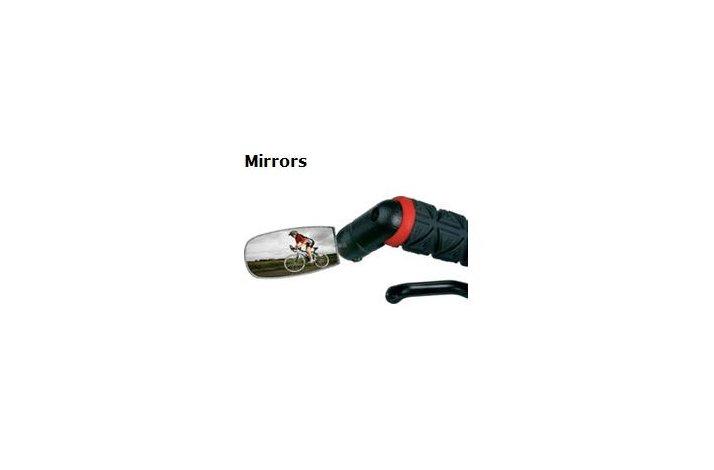 SPIN bar end and handlebar mirror