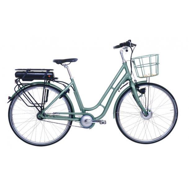Ebsen Fanø Lady Retro Silt Green Elcykel 2019