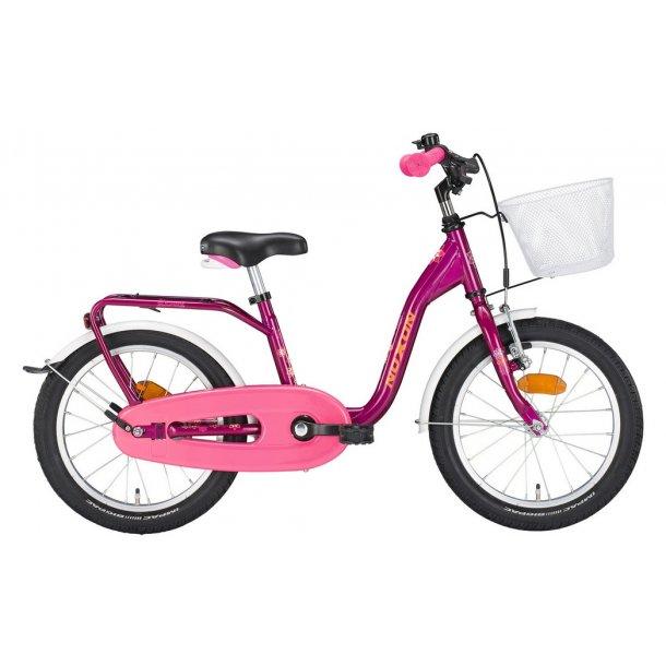 Noxon Pige cykel med kurv 3 størelser 2 farver