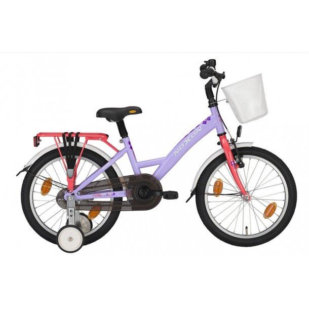 Noxon pigecykel 3 størelser 2 farver kurv 1 Gear Støttehjul