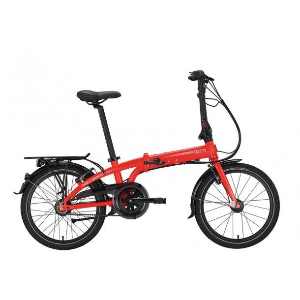 Tern Foldecykel Link c7i rød 7 shimano nexus gear