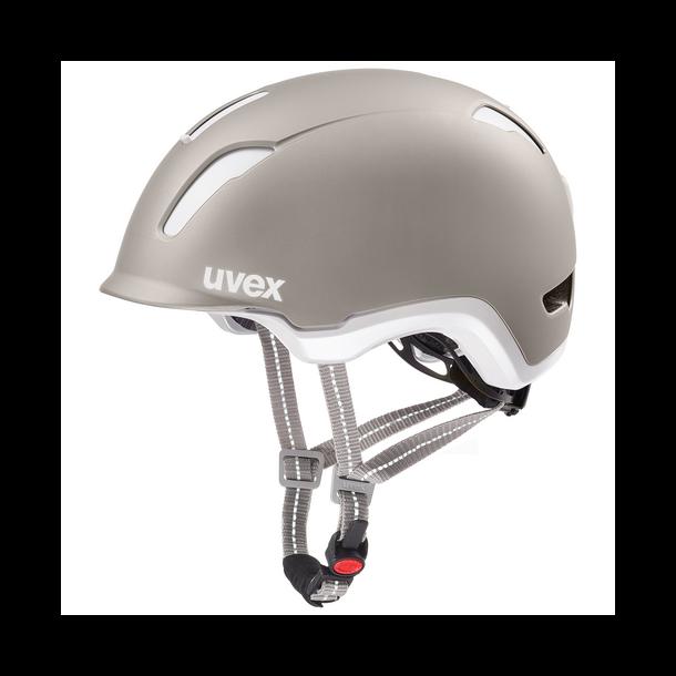 Uvex City 9 Cykelhjelm Varm grå Elcykelhjelm også 45 kmt