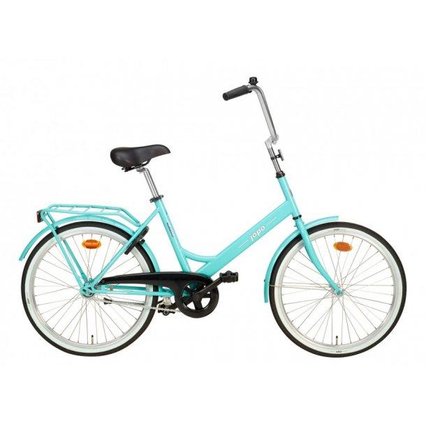 Jopo Mini cykel 24 tommer hjul 1 Gear 7 Farver - Damecykler - Cykelbutikken.eu